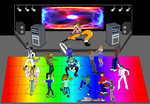 DANCE OFF, 2007 by Omega-Warior