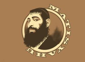 Matisyahu shirt design by KellyHalloran