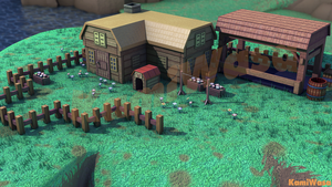 Mother 3 Lucas's House Environment by KamiWasa