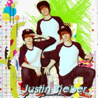 my blend Justin Bieber by magiapotter