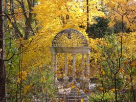 Autumn Gazebo by Rothar