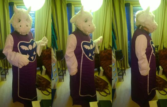 Full Toriel cosplay by Ugh-first-aid