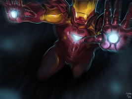 Iron Man by ayubee