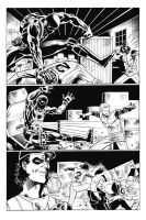 Page from Battling Yank part 2 by artistjoshmills