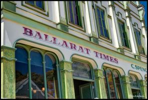 Ballarat Times HDR by andrearossi