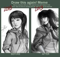 before and after - 2011/2013 by Rheien