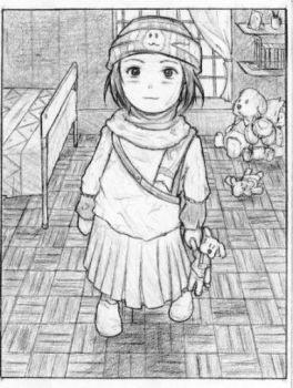 Az Lil Sister_uncoloured_y2k5 by ArseticQ