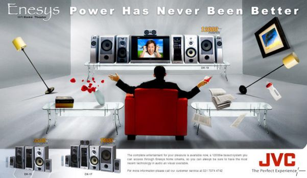 JVC Enesys ad by pepey