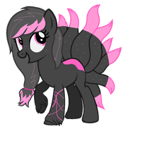 Toxic Ninetail Pony Adopt (Closed) by drenandtarb