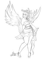 The Dove, Shima: Lineart by Feriberri