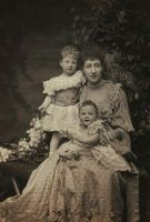 The Duchess of Fife with daughters by OTMARomanov