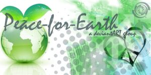 Peace-for-Earth Banner by Keitilen