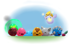 Slime Rancher by SeaJelli