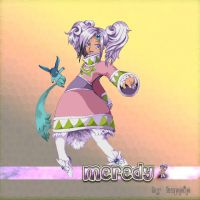 HUGE sprite Meredy and Quickie by happip