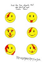 Watchmen FunBook Smile by PenumbraChey