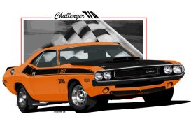 Dodge Challenger TA by sharpie1k