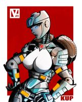 DKups: Fembot by SHADOBOXXER