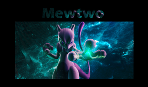 MewTwo Tag by JoshPattenDesigns