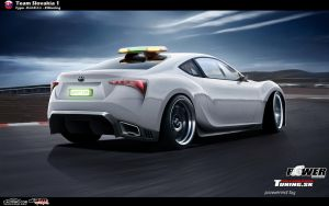 Toyota FR-S by CypoDesign