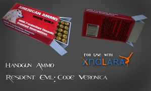 RECV Handgun Ammo for XNA by kaikun2236