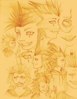 Axel Sketches by SkeletalWings