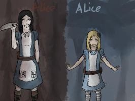 Alice and Alice by This-Shattered-Mind