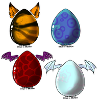 Name Your Price Egg Adopts by SparrowWrightheart