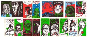 graffiti stickers by chaingunchimp