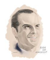Side  of  angels?(James Moriarty\Sherlock BBC) by IrvinIS