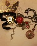 Victory Steam: Necklaces by Glyphron