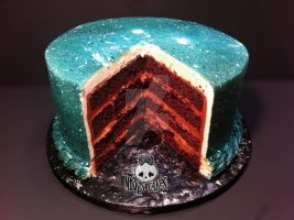 Chocolate Heath Bar Cut Cake by Corpse-Queen