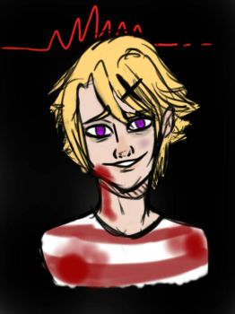 Yandere Yoosung by Violet-Foxes