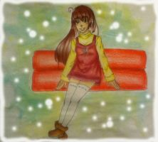 Akari from Miracle Train by NyrelleBusby