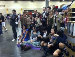 HUGE DOCTOR WHO COSPLAYERS at Phoenix Comicon 2012 by saki-senpai