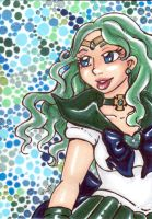 ACEO Sailor Neptune by nickyflamingo