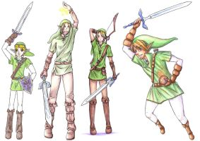 Why hallo yet again, Link by Spoonzmeister