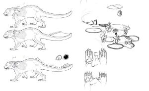 Swamp Cat Variations by Luherc