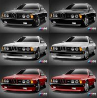1987 BMW E24 by AbaddonVolac