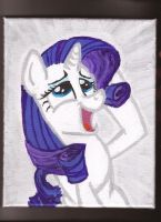 Rarity swooning by Pwnyville