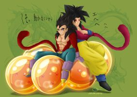 Roll, roll, roll Dragonball by deedelito16