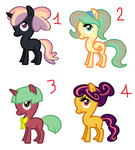 Other Adoptables (2 LEFT) by BronyBase
