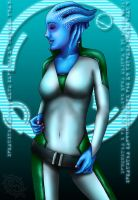 Liara in Flux by Shadowcat1001