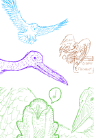 Croquis sur iScribble #4 by Gladrin