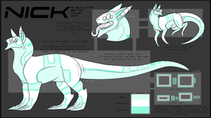 Nick O'Sullivan dragon reference by ELECTR0KINESIS