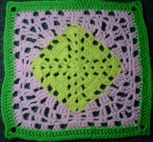 12 in. Granny Square 2013 BAMCAL by crochetamommy