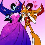 Thundercracker and Sunstorm by Forest-Queen