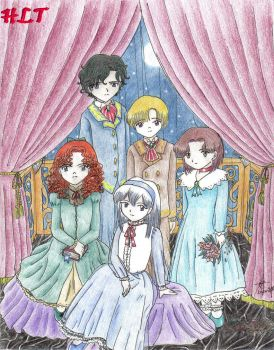 Belle y sus Hermanos by HLT-Chise