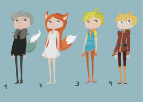 Adoptables 11 by Lewind