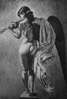 Study after Roberto Ferri, Music Making Angel by AlexndraMirica