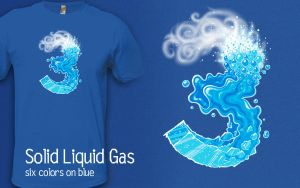 Solid Liquid Gas by InfinityWave